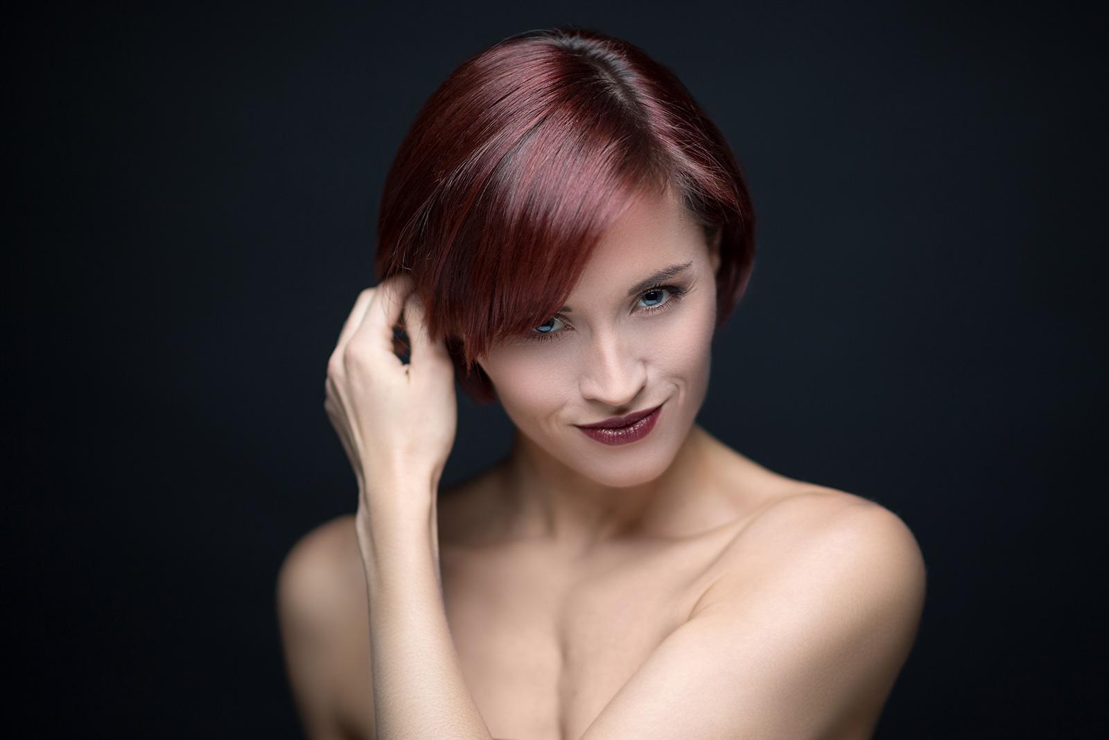 Beauty, Woman, Studioshooting, Studio, Fotostudio