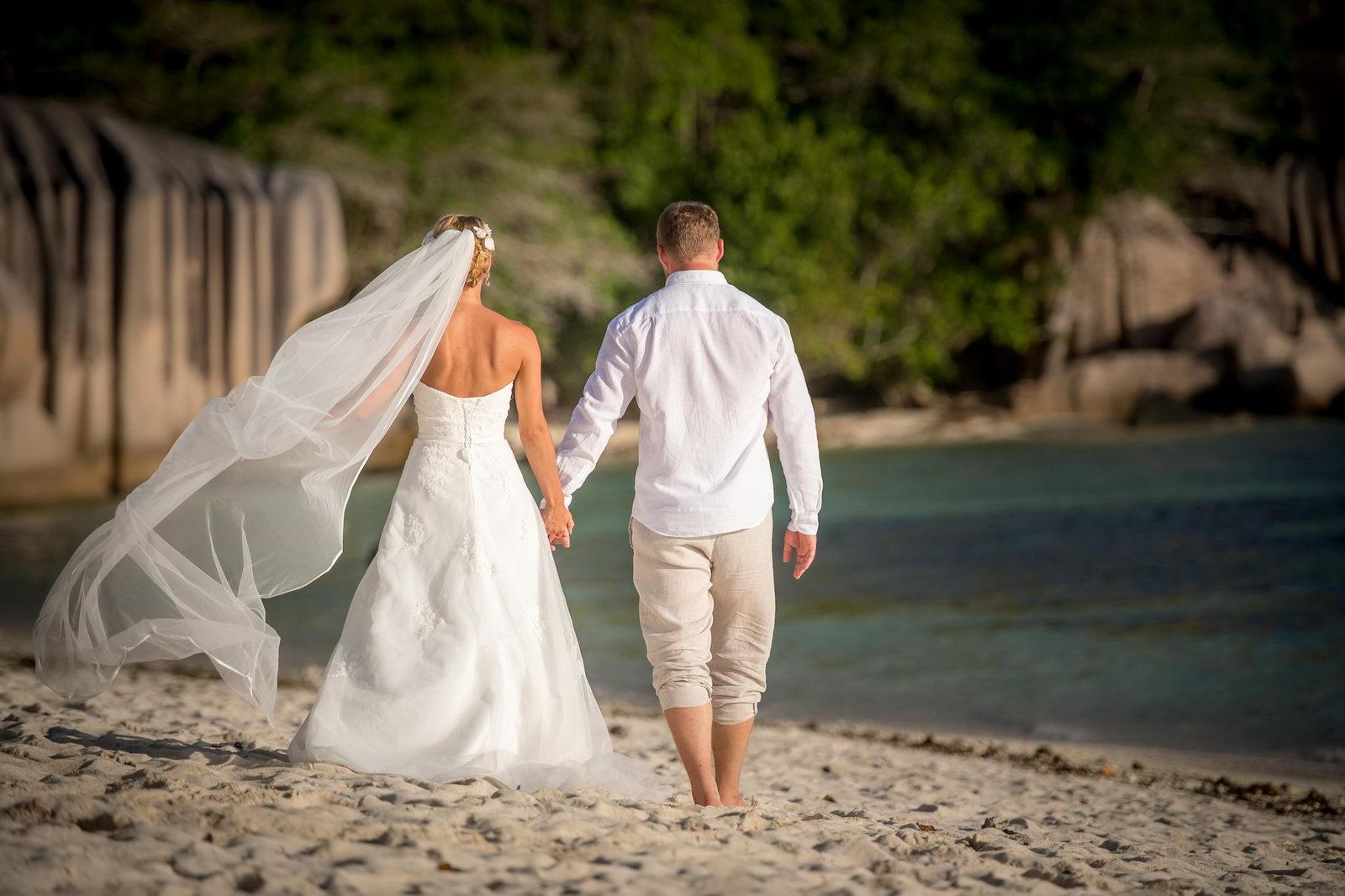 Hochzeitsfotograf, La Digue, Hochzeit, Anse Source d'Argent