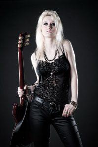 Woman, Guitar, Studio, Studioshooting, Fotoshooting