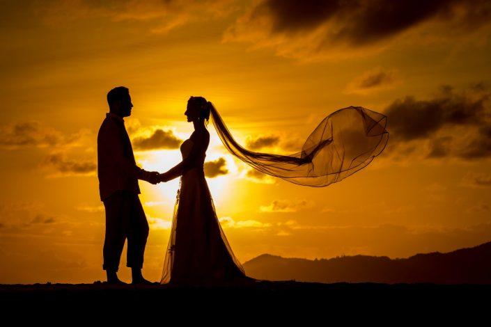 Traumhochzeit, Seychellen, La Digue, Hochzeit, Strandhochzeit