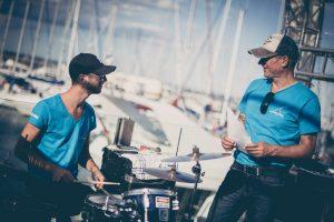 The Sailing Bassmann, Segeltour, Segeltörn, Konzert