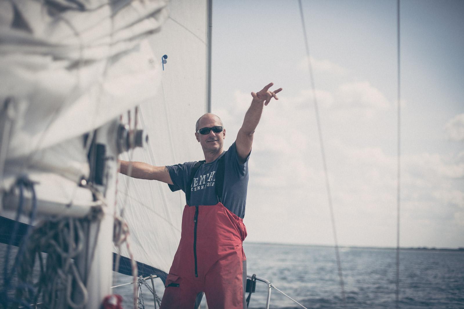 The Sailing Bassmann, Segeltour, Konzert