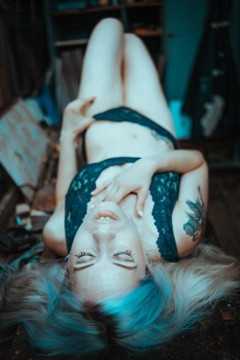 Nude, Tattoogirl, Shooting, Availablelight