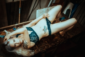 Nude, Tattoogirl, Shooting, Availablelight